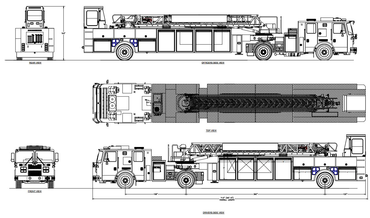 Leland Fire/Rescue Continues Efforts to Improve Emergency Response with New Ladder Truck