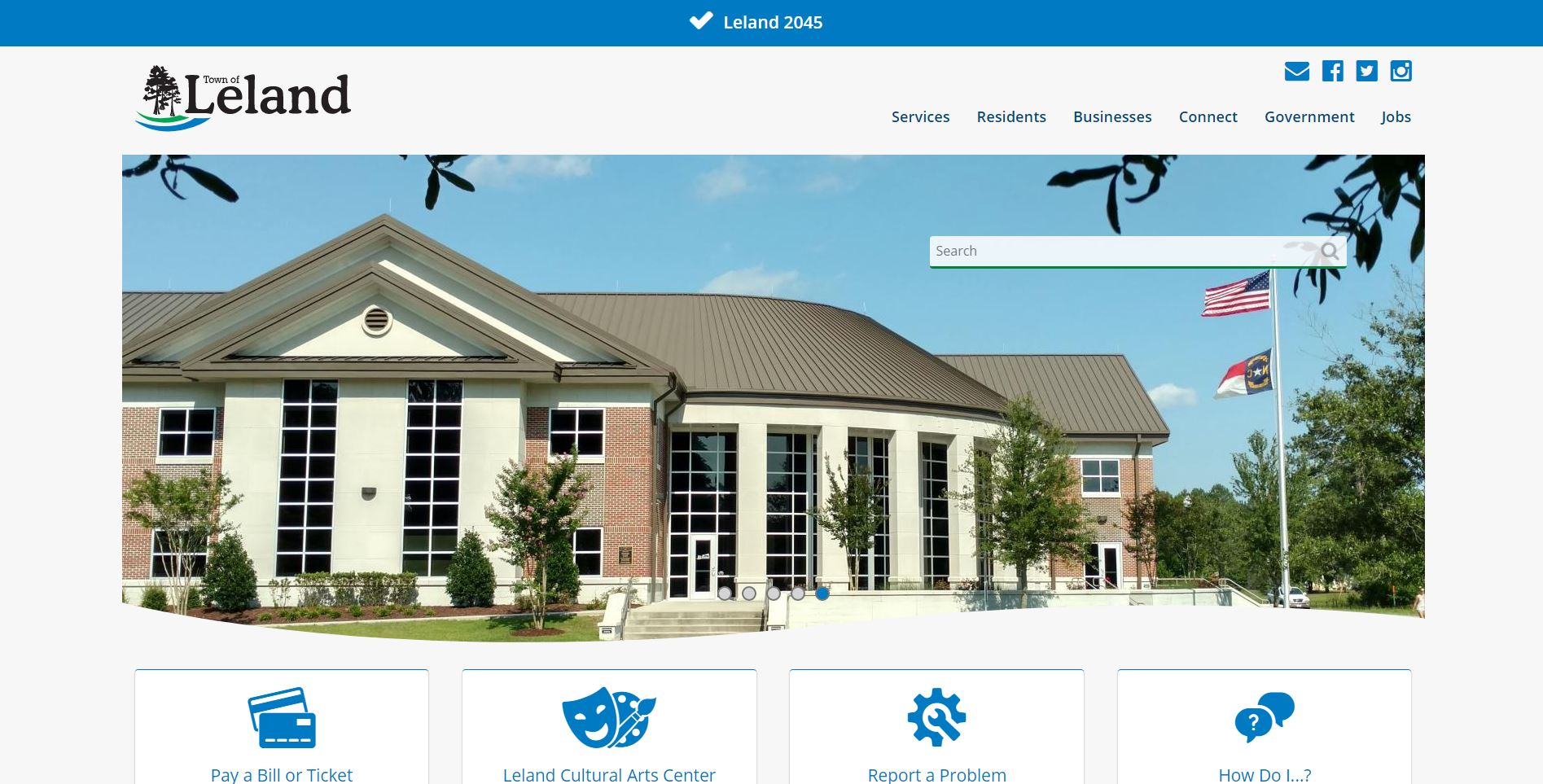 Feedback Needed for Town of Leland Website Redesign
