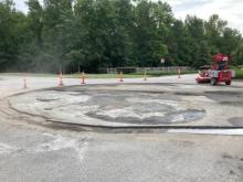 Demo of Concrete Island