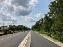 Final Paving on Old Fayetteville Road