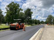 Paving Old Fayetteville Road